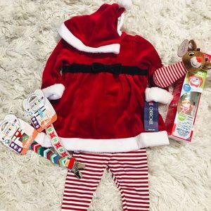 Christmas set 3-6 months